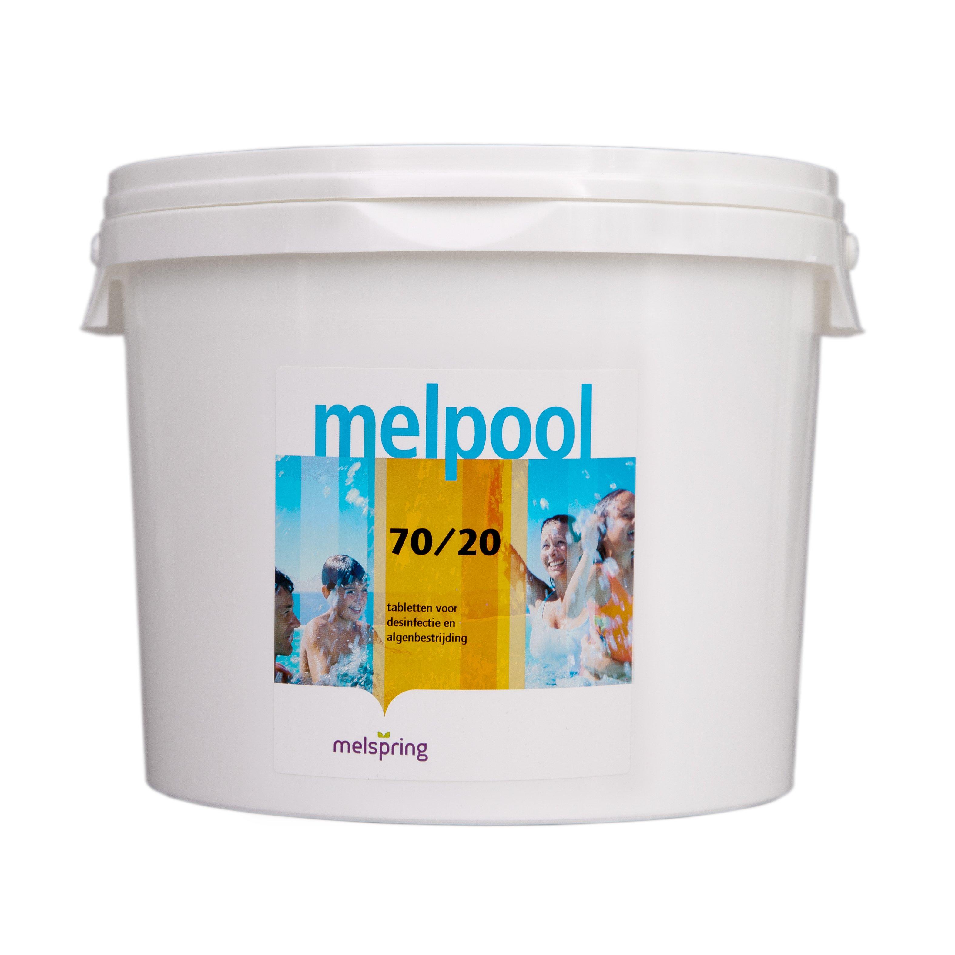 chloor 70 20 10 kg voor shock behandeling