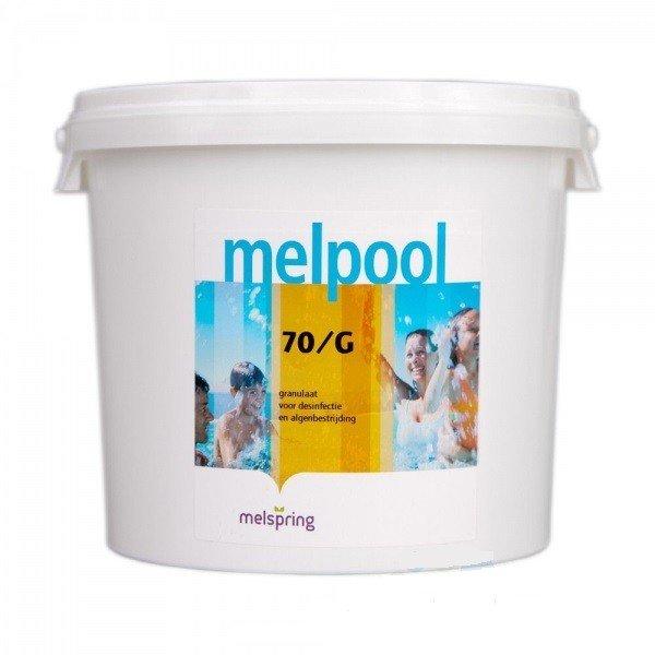 melpool chloorgranulaat 70/G 10 kg
