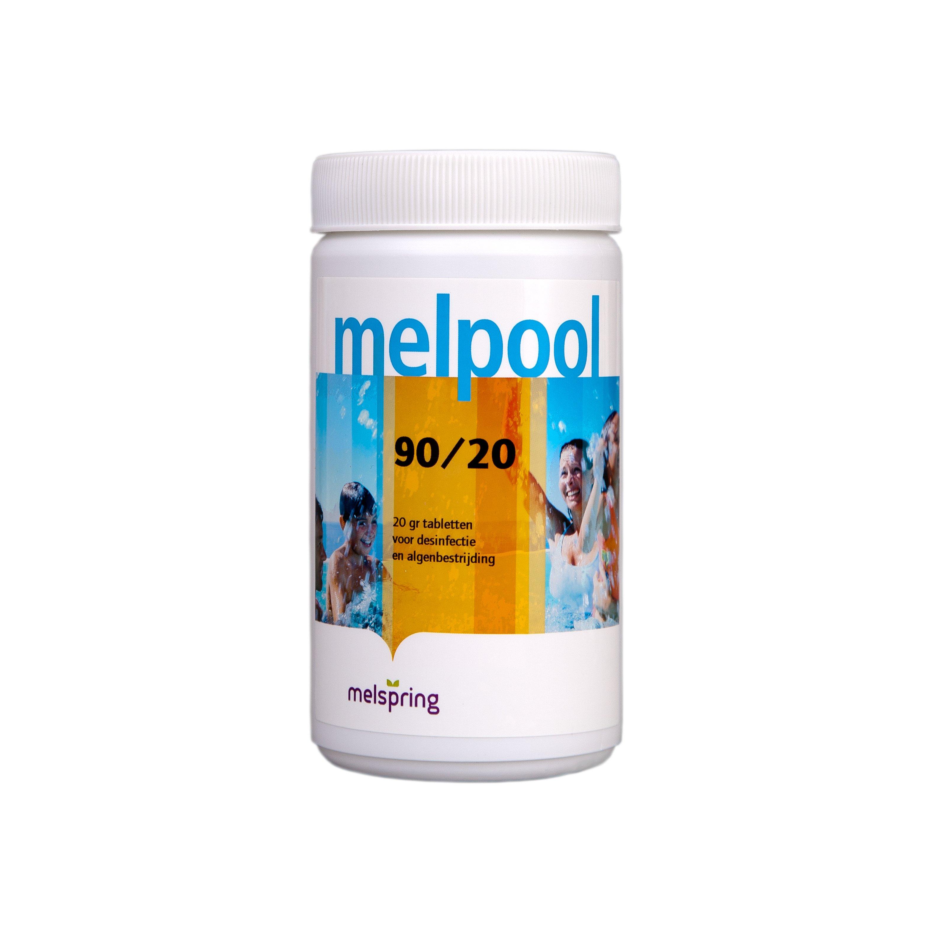 melpool chloor tabletten 90 20 1 kg