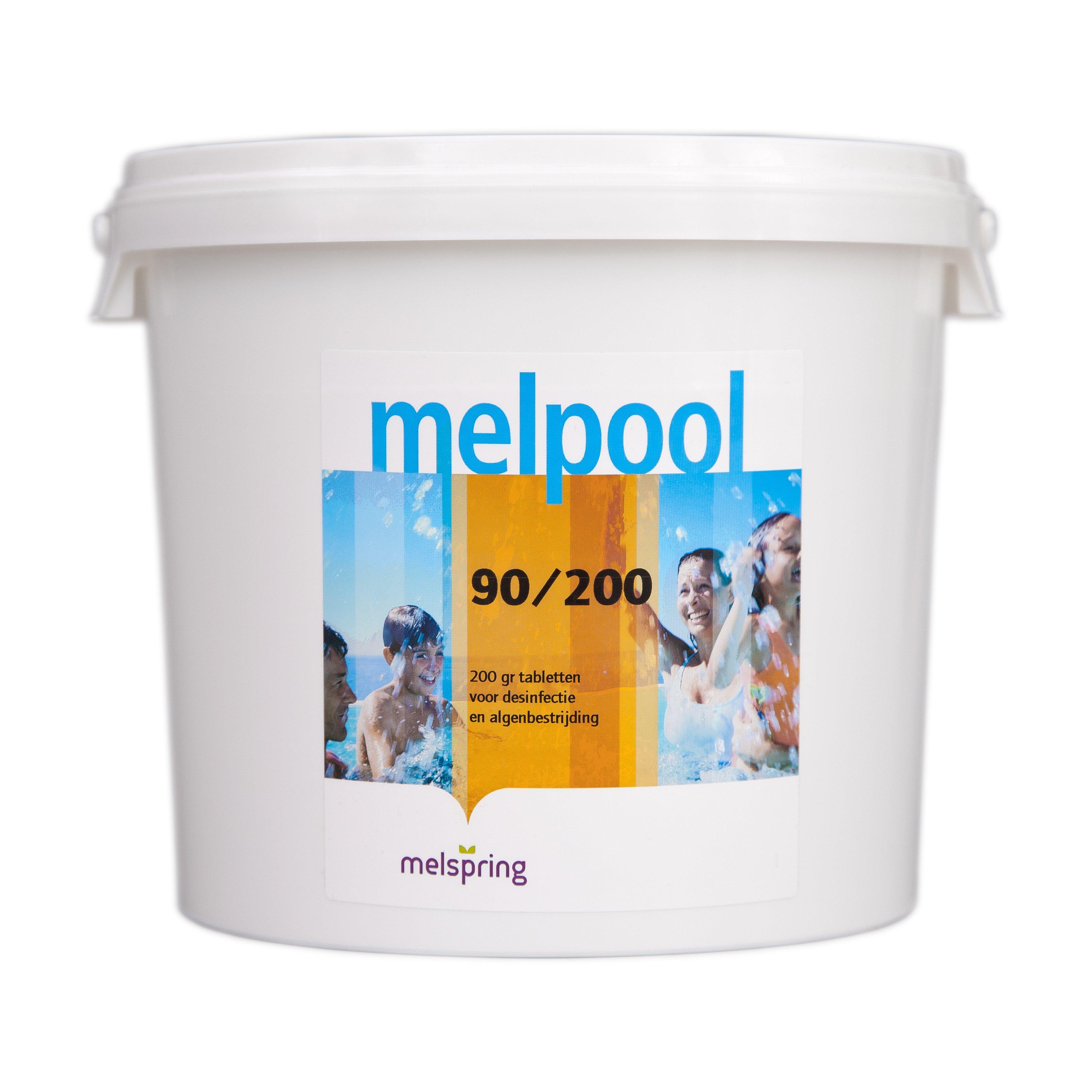 melpool chloor tabletten 90 200 5 kg
